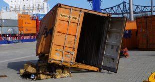 sugadintas krovinys